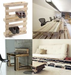 Home and Delicious: 10 rooms – palette furniture