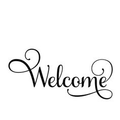 Welcome to the Silhouette Design Store, your source for craft machine cut files, fonts, SVGs, and other digital content for use with the Silhouette CAMEO® and other electronic cutting machines. Welcome Font, Welcome Stencil, Welcome Words, Silhouette Design, Silhouette Cameo Projects, Vinyl Crafts, Vinyl Projects, Mom Jokes, Cricut Creations