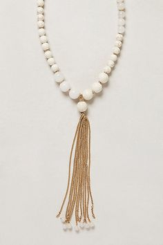 Canzonetta Tassel Necklace - anthropologie.com