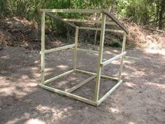 Movable Goat Shelter plans for