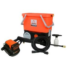 Yard Force 1350-Psi 1-Gallon-Gpm Cold Water Electric Pressure Washer Y