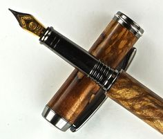 HandCrafted Fountain Pen Wooden Pen Hand by MikesPenTurningZ, $139.00