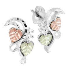 Forever Mine Fine  9ct Rose Gold Capped Sleeper 1.5mm Hoop Earrings 15mm