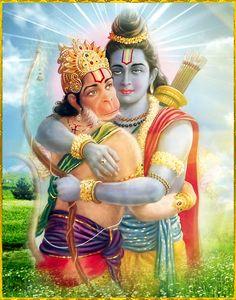 Lord Ram and Hanuman Lord Hanuman Wallpapers, Lord Shiva Hd Wallpaper, Krishna Wallpaper, Shiva Art, Shiva Shakti, Shiva Hindu, Hindu Deities, Bhagavad Gita, Shri Ram Photo