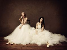 SNSD Jessica and fx Krystal in Stonehenge Masterpiece Pictorial