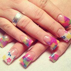 Crazy nails www.facebook.com/NailsByBritneyJadeOlsen