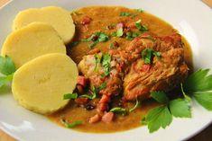V kuchyni vždy otevřeno ...: Vepřové s kedlubnovou omáčkou Thai Red Curry, Beef, Chicken, Ethnic Recipes, Food, Meat, Essen, Meals, Yemek