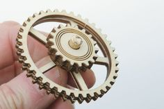 Laser Cut Display Gears : 16 Steps (with Pictures) - Instructables Gear Wheels, Scroll Saw, Display Case, Laser Cutting, Gears, Projects, Leather, Engineering, Pictures