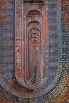 "'Eleven Million Bricks' ""Built in 1841, the Ouse Valley Viaduct (also called Balcombe Viaduct) over the River Ouse 