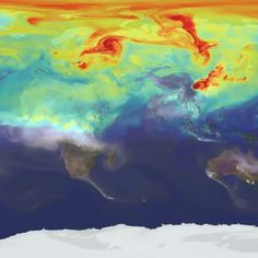 Mesmerizing NASA Video Shows How Carbon Pollution Swirls Across the Planet