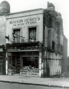 Shop, 529 Roman Road, early 1950s