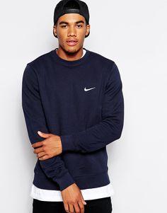 Nike Sweatshirt With Embroidered Swoosh 611467-473