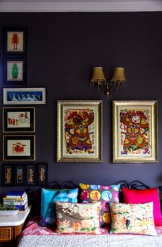 New Feature on A Sunny Yellow Window blog: TRANSFORMING SPACES WITH ART - Get blown away by Aradhana Anand's magic in her gorgeous Delhi home