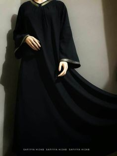 Hijab Dress Party, Hijab Style Dress, Abaya Style, Burqa Designs, Abaya Designs, Muslim Hijab, Muslim Dress, Mode Abaya, Mode Hijab