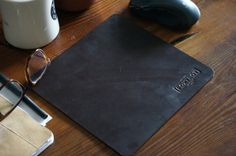 Horween Leather Mousepad