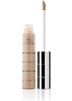 Dual-Action Concealer. It hides imperfections, highlights, and perfects!