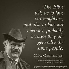 K Chesterton Quotes 1000+ images about G. K. Chesterton on Pinterest | Gk Chesterton ...