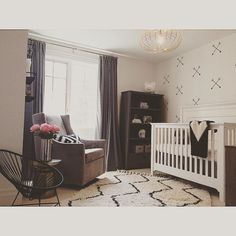 Nursery designed by| Ruffles and Rock Event Design | West Elm