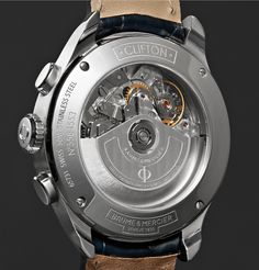 <b>EXCLUSIVE AT MR PORTER.COM.</b> Designed to satisfy discerning tastes, <a href='http://www.mrporter.com/mens/Designers/Baume_and_Mercier'>Baume & Mercier</a>'s 'Clifton' collection is inspired by a piece from watchmaking's Golden Fifties heyday. This elegant automatic chronograph is comprised of a streamlined stainless steel case, scratch-resistant sapphire crystal lens and sleek navy alligator stra...