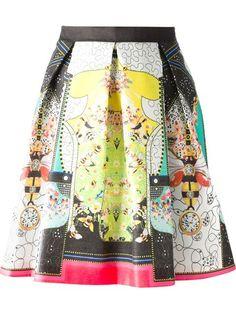 Comprar Piccione.Piccione falda corte tipo A con diseño con pliegues y estampado de abejas en Nugnes 1920 from the world's best independent boutiques at farfetch.com. Shop 300 boutiques at one address.