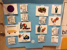 Miss Allison's Class: Sensory Saturday--Sensory Folders File Folder Activities, Easel Activities, Calming Activities, Sensory Activities, Autism Sensory, Occupational Therapy Schools, Alert Program, Shape Songs, School Folders