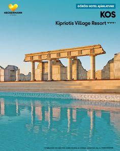 Kipriotis Village Resort 🧡🧡🧡+ Görögország, Kos, Psalidi  www.neckermann.hu/szallas/kipriotis-village-resort/54228?catalog=NAH  Nagy területen elhelyezkedő létesítmény szép kerttel valamint számos sportolási és szórakozási lehetőséggel. Ideális választás a kikapcsolódáshoz és kiváló kiindulópont a sziget felfedezéséhez. Naha, Kos, Marina Bay Sands, Building, Travel, Viajes, Buildings, Destinations, Traveling