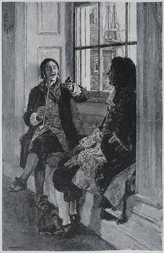 An illustration of the privateer turned pirate Captain Thomas Tew, relating his exploits to Governor Fletcher of New York.(Photo:Public Domain/WikiCommons)