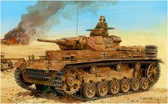 Panzer IV Ausf. C della 15th Panzerdivision del DAK. Ron Volstad
