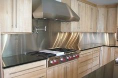 Transform Your Kitchen With A Stainless Steel Backsplash