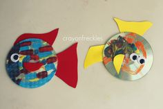 crayonfreckles: Rainbow Fish book activities