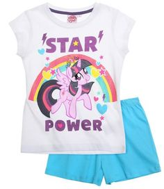 My Little Pony Shorty-Pyjama blau
