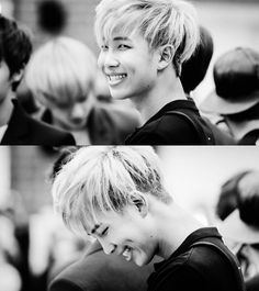 Kim Namjoon has a beautiful smile. I just wanted you to know. <-- hes too beautiful