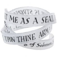 This striking Woven Words Bangle gives statement jewellery a literary and personal twist, weaving this verse from the Bible's most beautiful love poem around your wrist.    Details: These bangles are handmade in resin