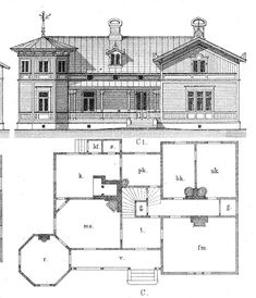 Tower House, Good House, Cottages, Interior And Exterior, 19th Century, Sims, Concrete, House Plans, Sweet Home