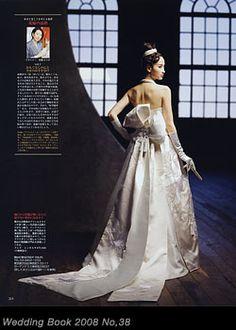 着物ドレスのローブドキモノ 白無垢ドレス Anese Dresses Dresseswedding