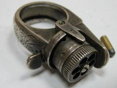 Revolver ring...every woman needs one of these to protect herself!