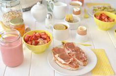 La chica de la casa de caramelo: Desayuno saludable con pan casero rápido
