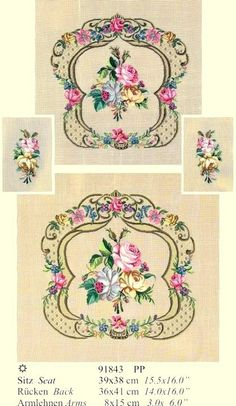 Gallery.ru / Martin Winkler - Martin Winkler - altaelena Crewel Embroidery, Vintage Embroidery, Ribbon Embroidery, Cross Stitch Embroidery, Cross Stitch Charts, Cross Stitch Designs, Graphic Design Portfolio Examples, Cross Stitch Pictures, Needlepoint Pillows