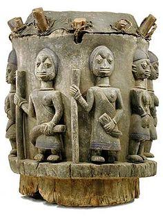 Yoruba drum