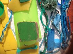 Beach combing for colours in beautiful West Cork - kept the children entertained for hours!