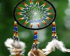 types of dream catcher webbing | American Indian dream catcher