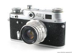 Fed Fed 3a Vintage cameras collection by Sylvain Halgand