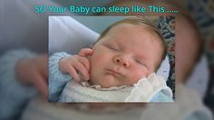 Easy way to get sleep without using danger pil http://bit.ly/babysleepsolutions