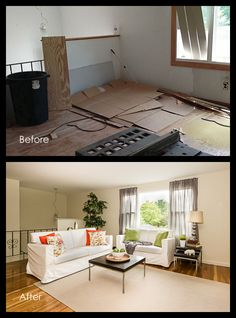 """Real Estate Experts List Home Staging as: """"Best Home Improvement Project for… Room For Improvement, Home Improvement Projects, Living Room Styles, Living Rooms, Real Estate Photography, Beautiful Space, First Home, Home Staging, Home Renovation"""
