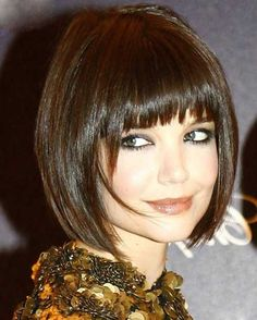 15 Katie Holmes Bob With Bangs | Bob Hairstyles 2015 - Short Hairstyles for Women