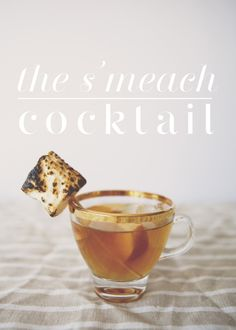 THE S'MEACH COCKTAIL