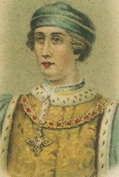 Henry VI (6 December 1421 – 21 May 1471) was King of England 1422–1461 and again from 1470 to 1471, and King of France from 1422 to 1453. Until 1437, his realms were governed by regents. Contemporaneously, he was described as a peaceful and pious man, not suited for the harsh nature of the struggles facing him. His periods of insanity and his inherent benevolence eventually led to his own downfall, the collapse of the House of Lancaster, and the rise of the House of York.