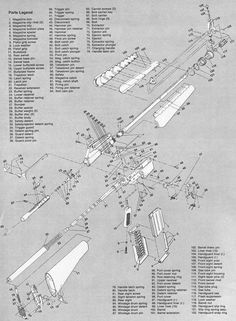 Exploded gun diagrams google search armory pinterest for My blueprint arkansas