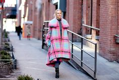 New York Fashion Week Street Style F/W 2015-16. Click on the image to see more.