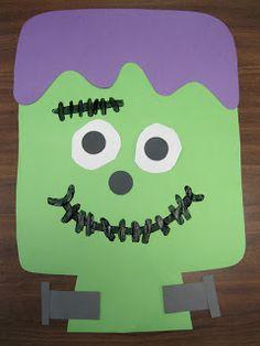 Kindergarten Rocks!:Frankenstein (also a super fun sensory activity for halloween!!)!!
